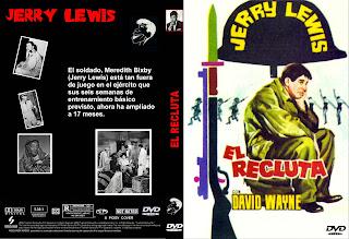 Carátula: El Recluta (1957) (El vivo del escuadrón) (The Sad Suck)
