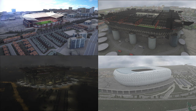 PES 2017 Repack External Exterior For PTE Patch Stadium Pack 1.0 + Update 1.0.1 by IF