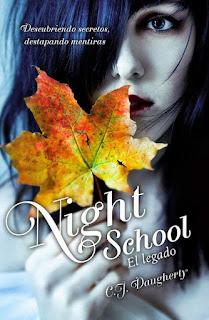 Resultado de imagen para Saga Night School - C.J. Daugherty
