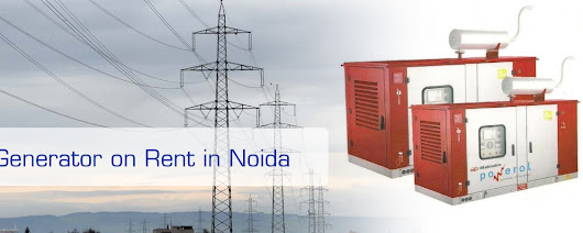 Generator on Hire in Noida - Call: +91-9540067609, 9810067609