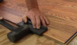 pasang lantai kayu
