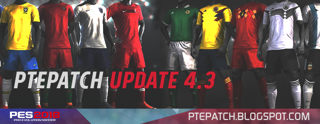 PES 2018 | PTE Patch 2018 Update 4.3 [image by http://ptepatch.blogspot.co.id/]