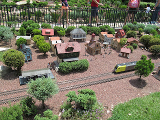 The Train Garden in Germany at EPCOT