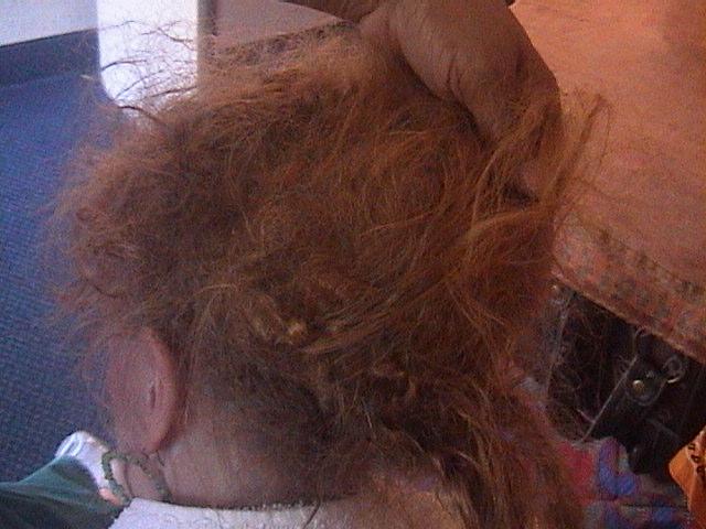 волосы рапунтыр запутанные