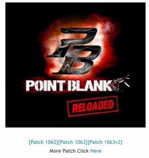 point blank garena plus patch 1063