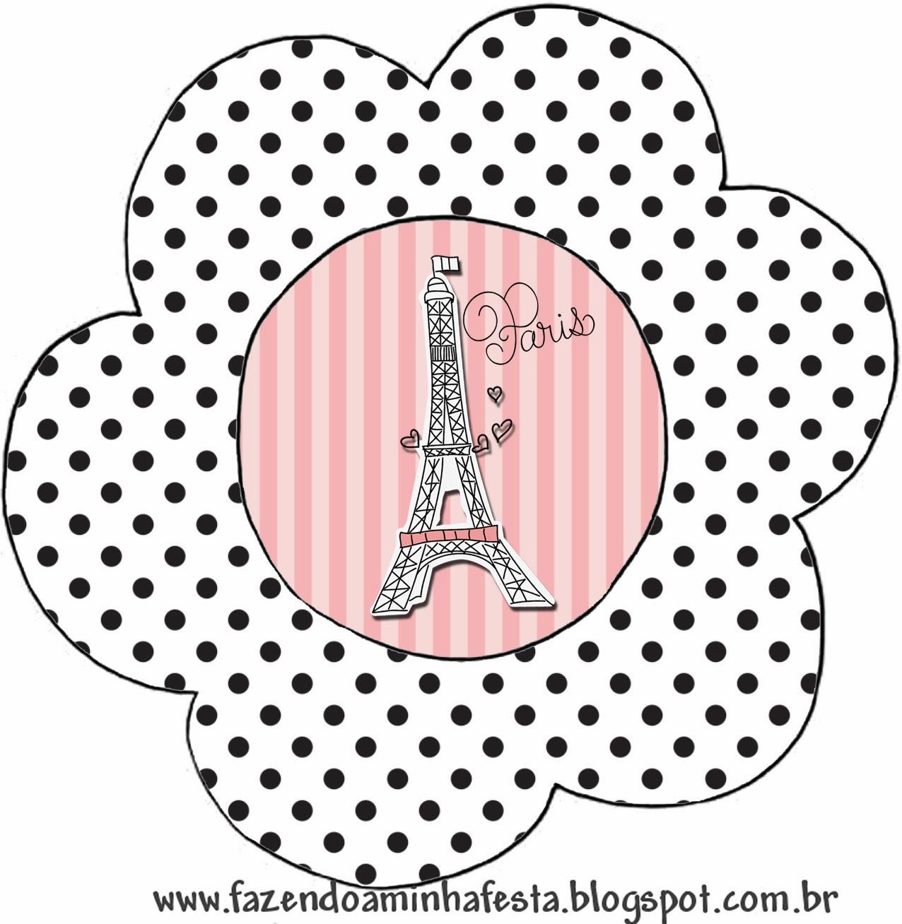 15 Años París Tarjetas O Invitaciones Para Imprimir Gratis