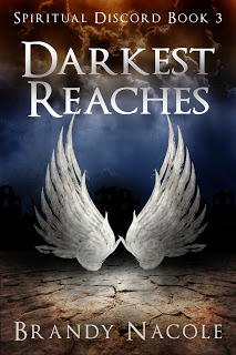 darkest reaches, spiritual discord, urban fantasy book, paranormal book, brandy nacole