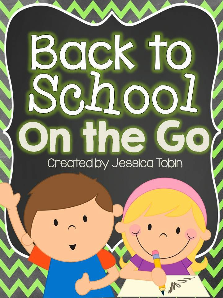 Back to School ideas- classroom activities for August back to school time