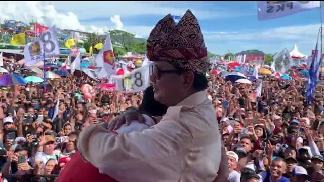 Prabowo: Jika Dipanggil Yang Maha Kuasa, Saya Hanya Ingin Meninggalkan Amal Baik untuk Rakyat