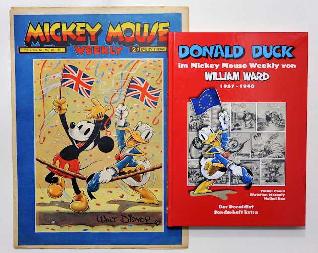 Mickey Mouse Weekly #66 and Donald Duck im Mickey Mouse Weekly von William Ward