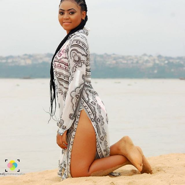Nollywood Teenage Actress, Regina Daniels Stuns In Bikini As She Turns 16