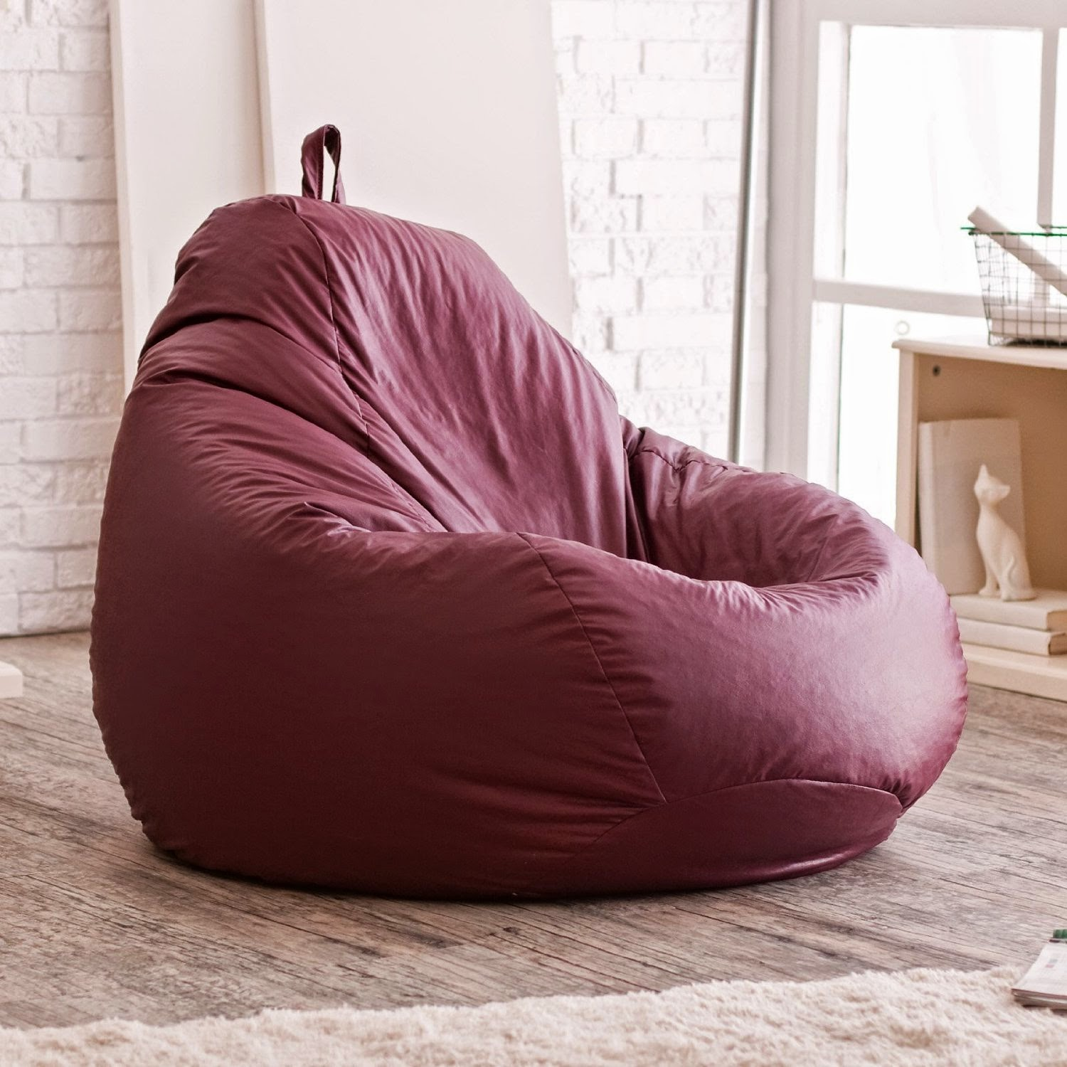 About Vinyl Bean Bag Chairs Home Design Inspiration And