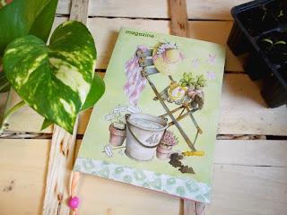 L'agenda-diario per l'orto è utile per organizzare i lavori.