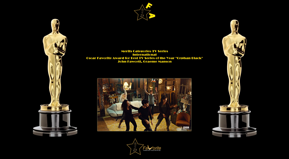 oscar favorite best tv series of the year international award orphan black