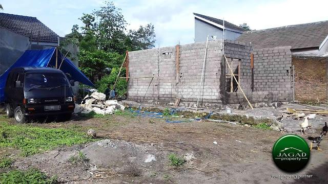 Rumah Siap Bangun dekat Ringin Purwomartani