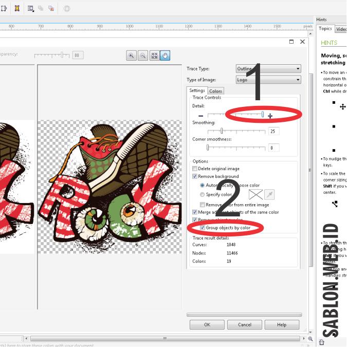 pecah warna corel draw, cara memisahkan warna di coreldraw x7, cara memisahkan warna menggunakan corel draw, cara pisah warna raster di coreldraw, cara pisah warna separasi di coreldraw, membuat separasi dengan coreldraw, cara pecah warna sablon raster, cara membuat tanda register di corel, cara pisah warna coreldraw x6