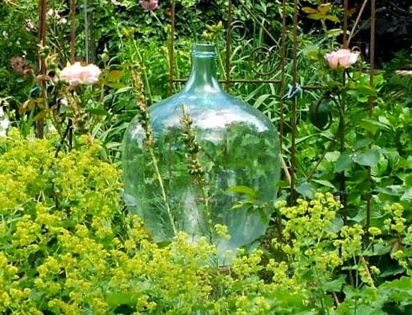 Gartendeko aus Glas