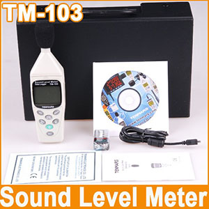 Datalogging Sound Level Meter Tenmars TM-103 Call 08128222998