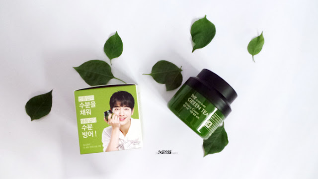 TONY MOLY The Chok Chok Green Tea Watery Cream Moisturizer Korean Kbeauty