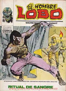 El Hombre Lobo 05 Ediciones Vertice