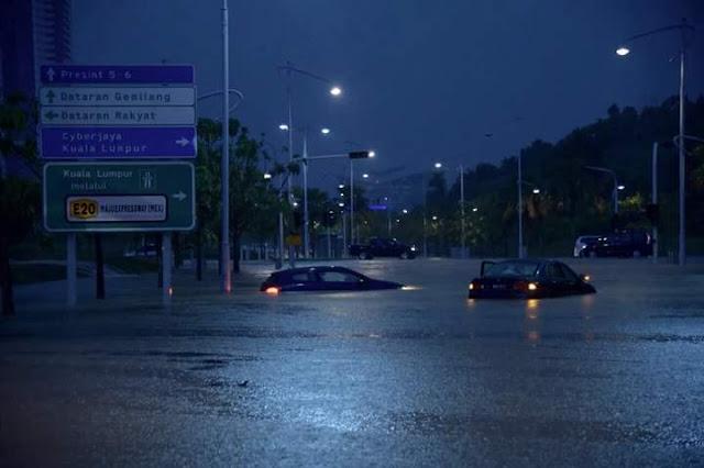 WHAT? Putrajaya Banjir Kilat!