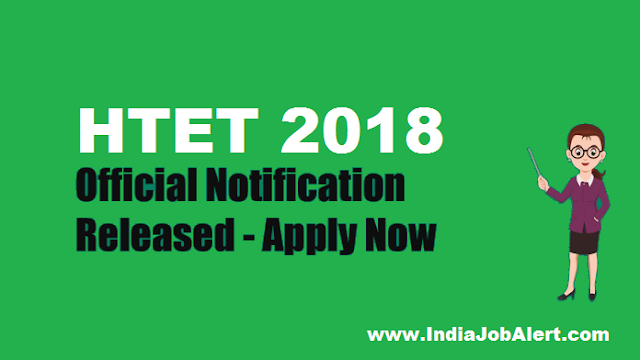 HTET 2018 || Apply Online Here