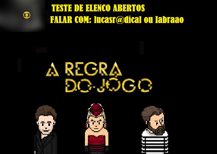 Banner de A Regra do Jogo (Divulgação: Globo Habbo)