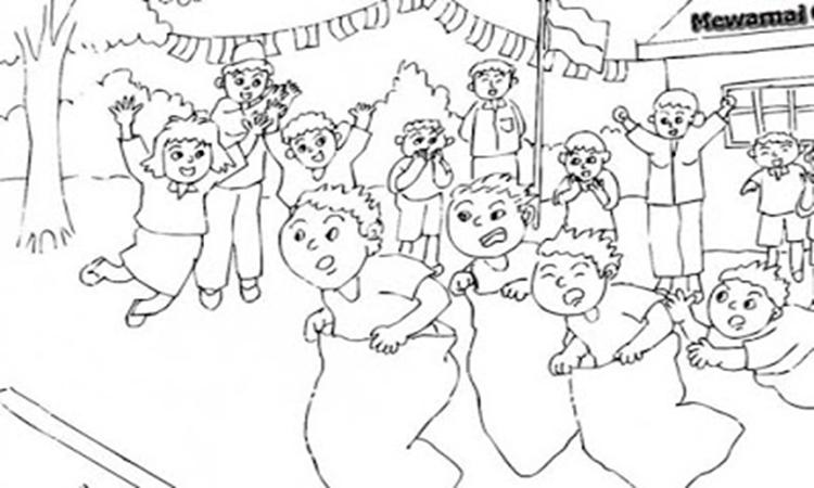 4000 Gambar Anak Tk Tema Hari Kemerdekaan Infobaru