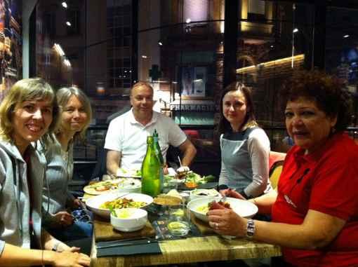 Les 4 joueuses de l'équipe de Monaco au Top 12 féminin à Mulhouse - Photo © Chess & Strategy