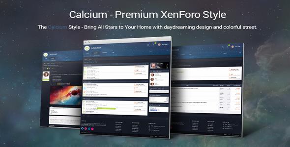 Calcium v1.4.4 – Premium XenForo Style – Brivium