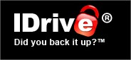 IDrive File Storage Website