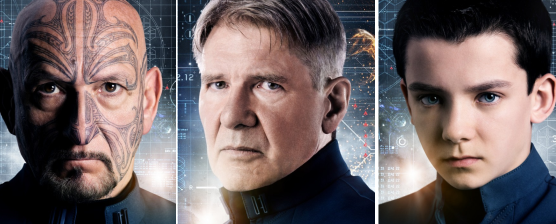 Três clipes inéditos de ENDER'S GAME: O JOGO DO EXTERMINADOR, com Asa Butterfield, Harrison Ford e Ben Kingsley
