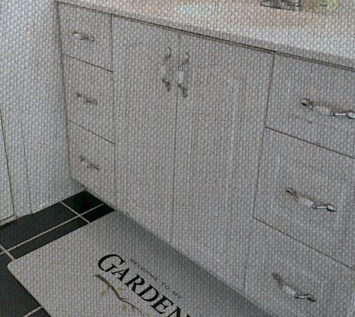 Repairing a Water Damaged Bathroom Vanity