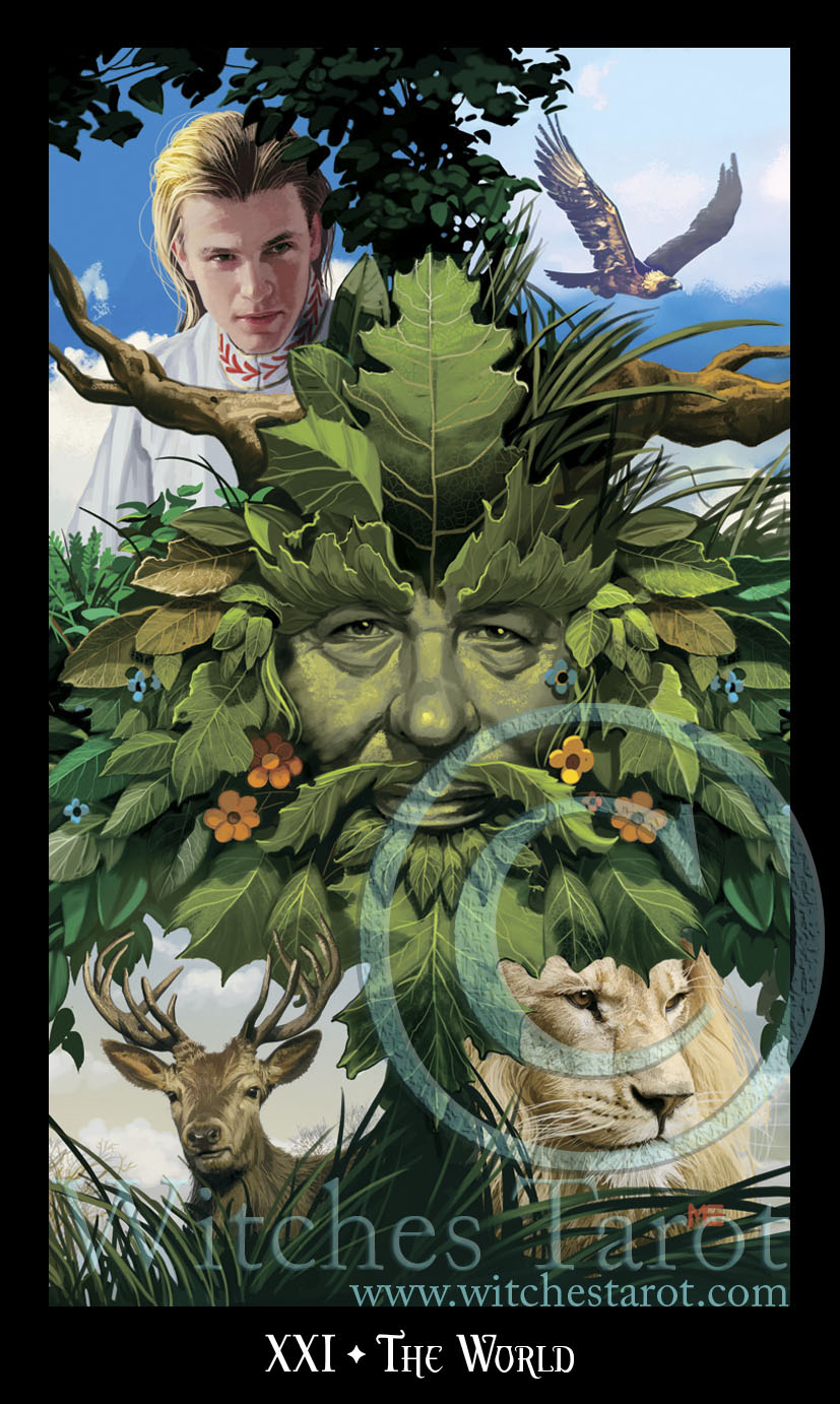 Preview of the Cards from the Witches Tarot! - Ellen Dugan's Blog of