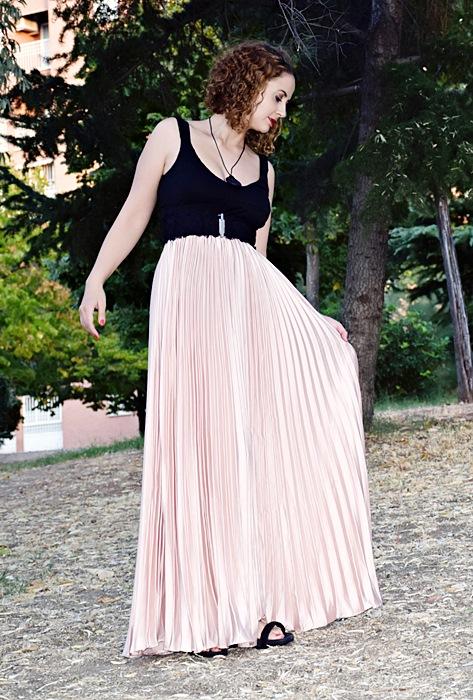 Outfit-Maxi-Falda-Plisada-3