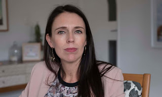 New Zealand prime minister Jacinda Ardern looks to the future with oil exploration ban. (Photograph Credit: Stephen Langdon for the Guardian) Click to Enlarge.