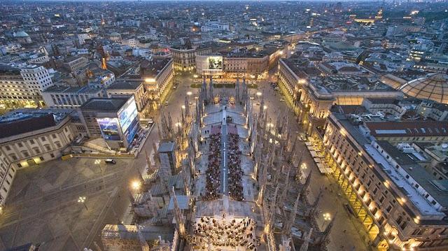Região do Duomo de Milão