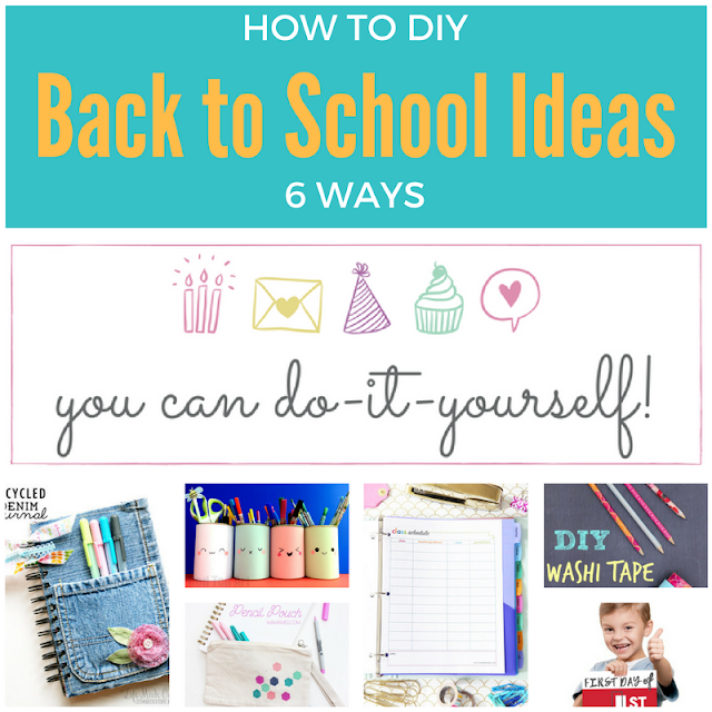 6 fun & useful back-to-school ideas