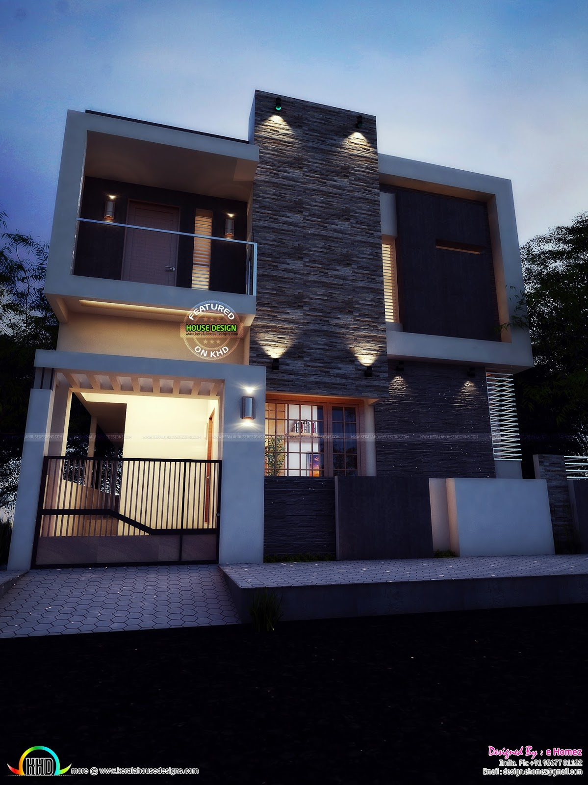Bengaluru home design kerala home design bloglovin for From house design