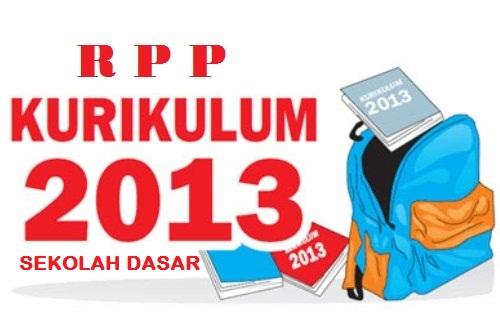 RPP SD Kurikulum 2013 Kelas 1 SD Tema 1 2 3 4 Format Microsoft Word Terbaru