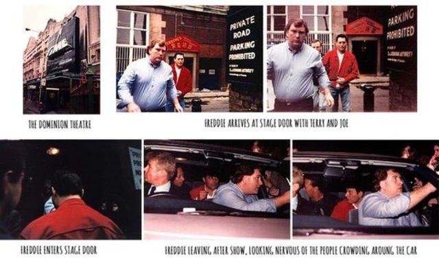 Rare Photos of Freddie Mercury in the Summer of 1991, Just Months Before He Died of Bronchial Pneumonia From AIDS