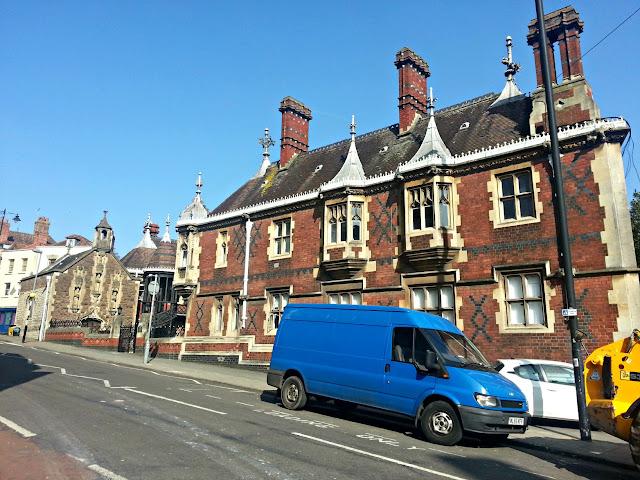 Almshouse, Colston Street, Bristol