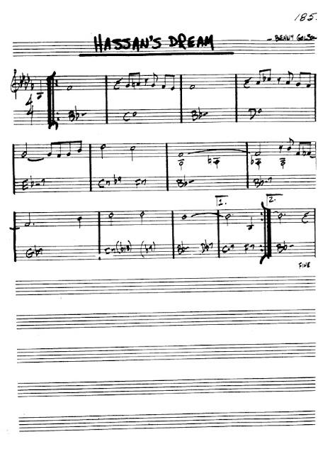 Partitura Violín Benny Golson