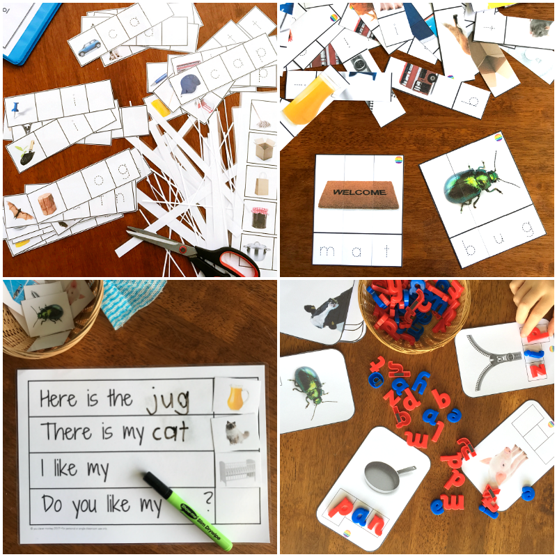 CVC Printable Activities for Class | you clever monkey