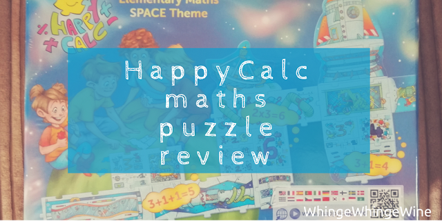 Funcomet HappyCalc preschooler maths puzzle review