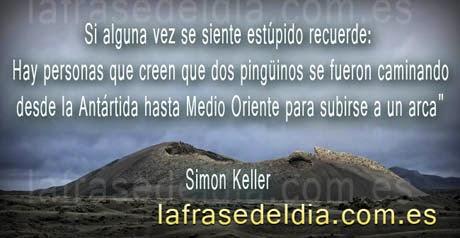 Frases Simon Keller