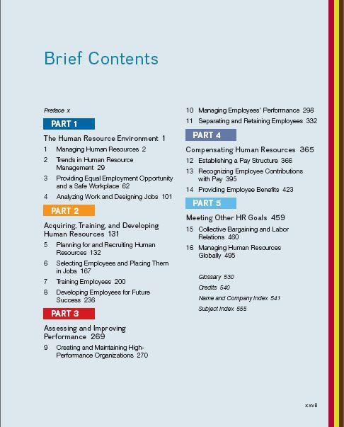 Management fundamentals edition human pdf of 6th resource
