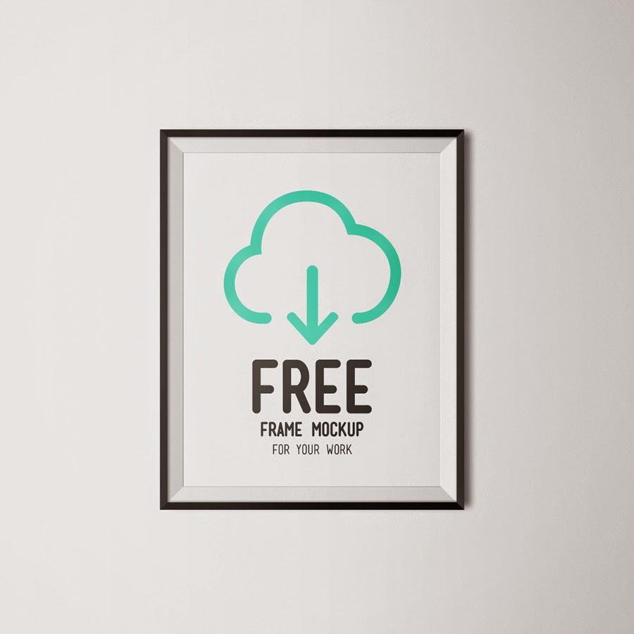 Free Frame Poster Mockup PSD