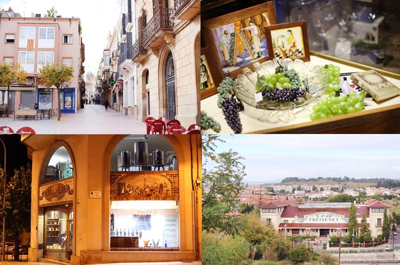 Czy warto odwiedzić miasto wina? Sant Sadurni d'Anoia. Hiszpania.
