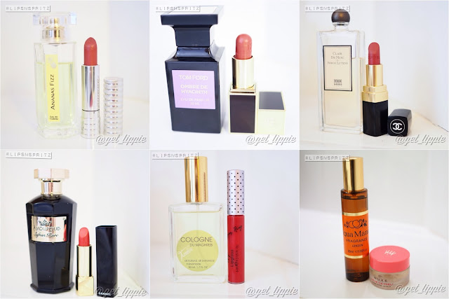 Seven days of lipstick and fragrance 10.04.2016 Get Lippie